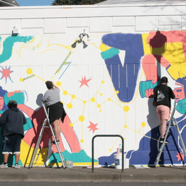 Press Release: Fresh Paint Brings New Mural to Northeast Portland