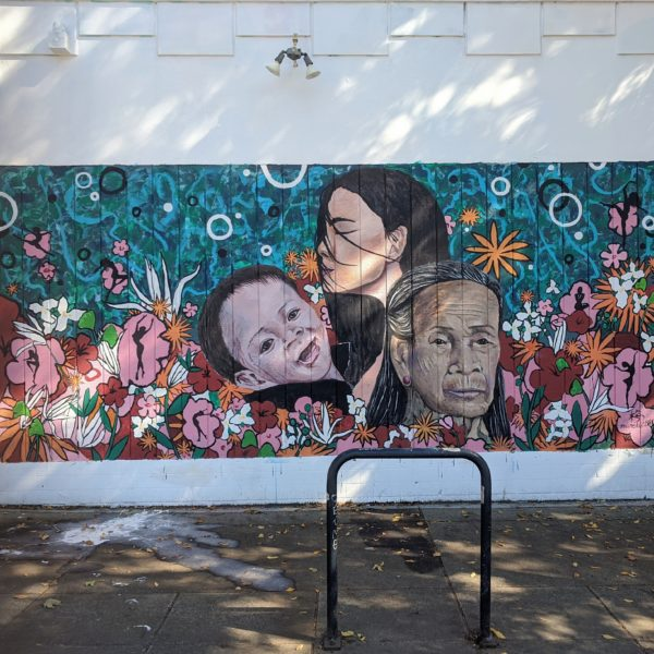 Press Release: Limei Lai Paints New Mural at Open Signal