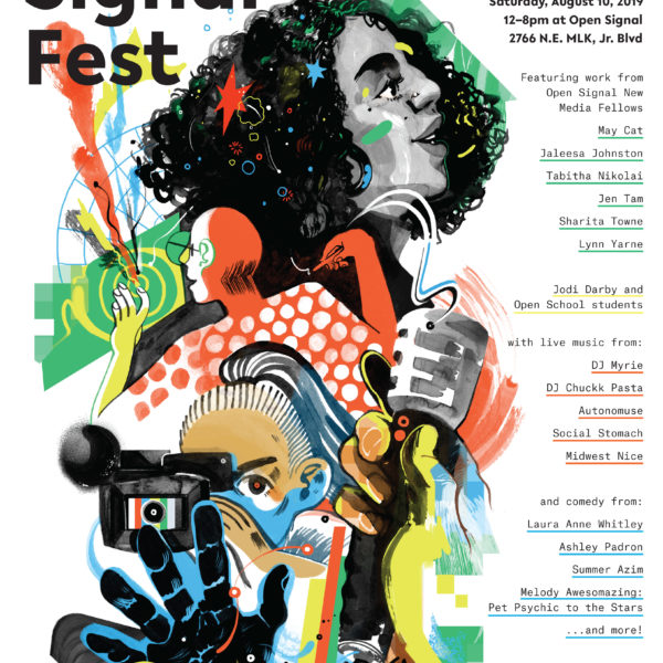 Press Release: Open Signal Fest Celebrates Media Arts on August 10