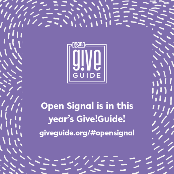 Donate to Open Signal through the Willamette Week Give!Guide